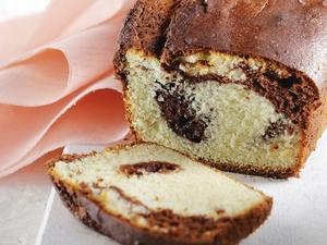 Γρήγορο ανάμεικτο κέικ βανίλια - σοκολάτα