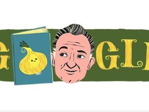 Τζάνι Ροντάρι - Το Google τιμά με doodle τον συγγραφέα παιδικών βιβλίων