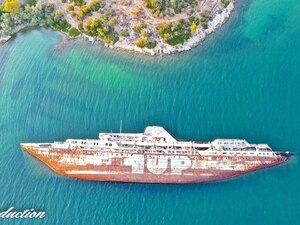 Το θρυλικό πλοίο που από το λιμάνι της Πάτρας, βρέθηκε εγκαταλελειμμένο στην Ελευσίνα (video)
