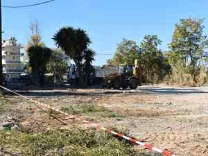 Πάτρα - Ένας νέος χώρος πρασίνου δημιουργείται στην Ανθούπολη (φωτο)
