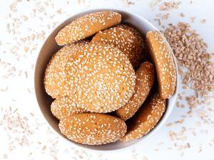 Μπισκότα με ταχίνι και μέλι