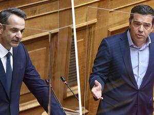 Δημοσκόπηση Alco: Προβάδισμα 15,1 μονάδων της ΝΔ έναντι του ΣΥΡΙΖΑ