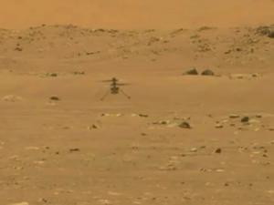 Το ελικόπτερο Ingenuity της NASA έκανε πτήση στον πλανήτη Άρη (video)