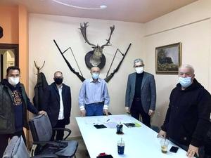 Συνάντηση του Άγγελου Τσιγκρή στην Κυνηγετική Ομοσπονδία Πελοποννήσου, στην Πάτρα (φωτο)