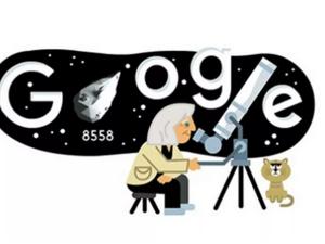 Margherita Hack - Το Google Doodle τιμά την Ιταλίδα αστροφυσικό