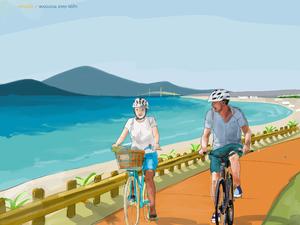 Το σπιράλ για τον ποδηλατόδρομο,  με αφορμή τη μη ολοκλήρωση του έργου