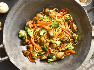 Light noodles με λαχανικά