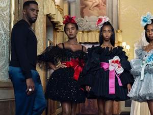 Oι κόρες του Diddy στην επίδειξη μόδας του οίκου Dolce & Gabbana