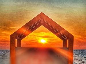 Μοναδική εικόνα - Όταν ο ήλιος 'αλλάζει' με θέα τον Πατραϊκό