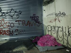 Τουλάχιστον πέντε άστεγοι στο ιστορικό κέντρο της Πάτρας - Ζουν στους δρόμους