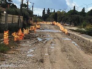 Τραγική η κατάσταση με τα έργα της ΕΡΓΟΣΕ στα Αραχωβίτικα (φωτο)
