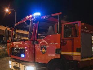Πάτρα: Ξέσπασε φωτιά σε κουζίνα διαμερίσματος