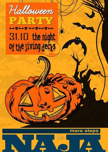 Halloween Party: The Night of the Living Decks στο More Steps