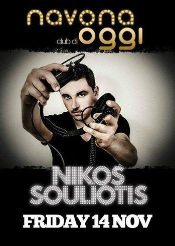 Nikos Souliotis στο Navona Club di Oggi
