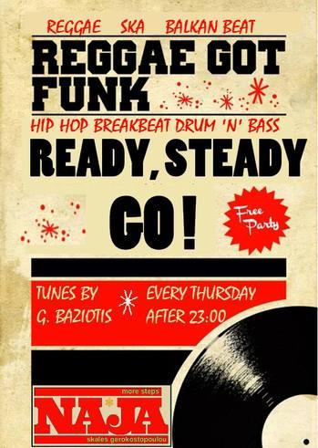 Reggae Got Funk / Ready Steady Go στο More Steps