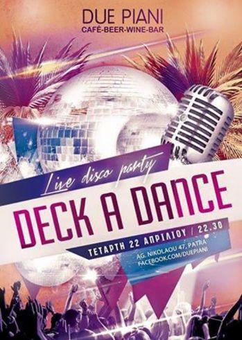 Deck a Dance στο Due Piani