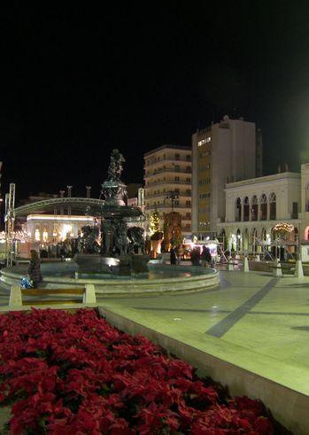 Χριστουγεννιάτικο παζάρι στην πλατεία Γεωργίου