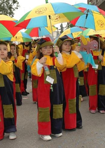 Καρναβάλι των Μικρών «Τι  θα ήθελες να γίνεις όταν μεγαλώσεις;» στην Πλατεία Αρόης