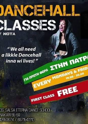 Dancehall Classes στη Salsa Eterna