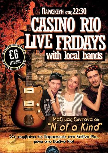 Live Fridays at Casino Rio