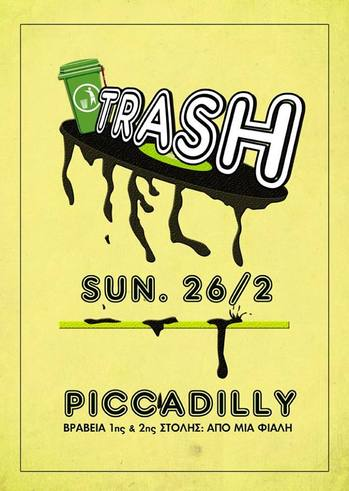 Trash at Piccadilly