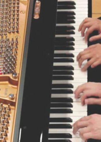 """""""Ρεσιτάλ πιάνου για 4 χέρια"""" στο Παλαιό Δημοτικό Νοσοκομείο της Πάτρας"""