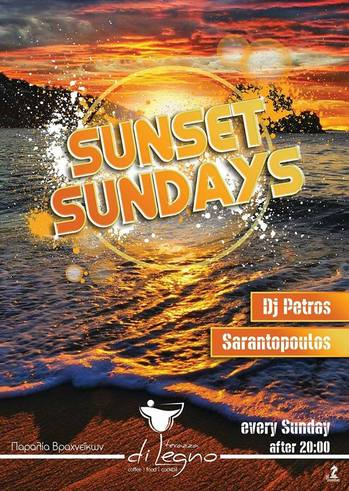 Sunset Sundays at Terazza di legno