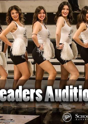 Cheerleaders Auditions at School of Dance