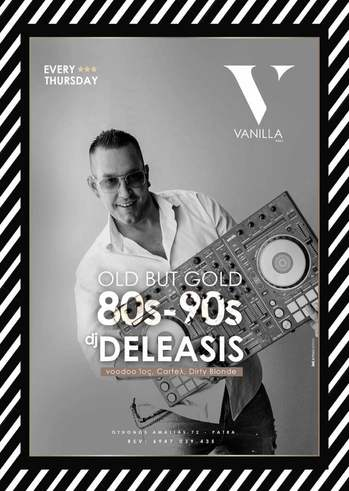 Old but Gold 80s-90s by Deleasis στο Vanilla hall