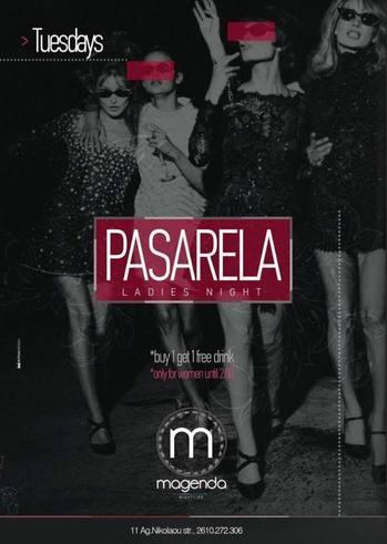 Pasarela Ladies Night at Magenda