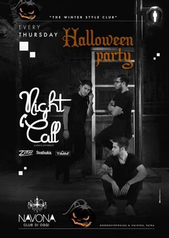Nightcall party - Halloween Night at Navona Club di Oggi