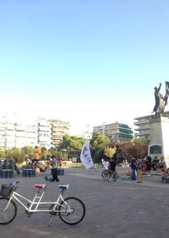 Συνάντηση μελών ποδηλατικής κοινότητας στα Ψηλαλώνια