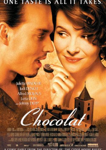 """Προβολή Ταινίας """"Chocolat"""" στην Οικολογική Κίνηση Πάτρας"""