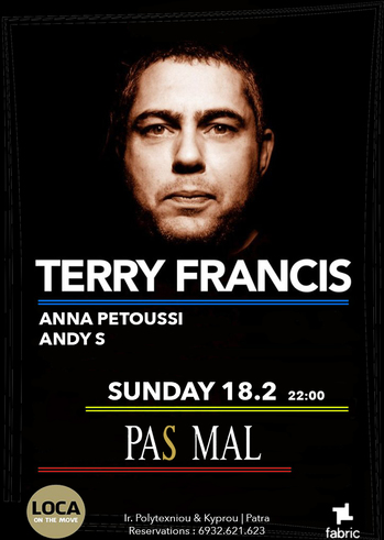 Terry Francis at Pas Mal