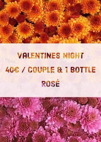 Valentines Night Party στο Δασύλλιο by Vouz