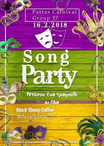 Song party at Black Sheep