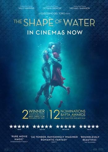 """Προβολή Ταινίας """"The Shape of Water"""" στην Odeon Entertainment"""