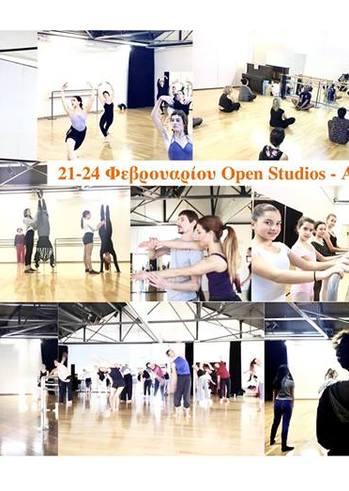 Ανοιχτά Μαθήματα-Open Studios at Dansarte