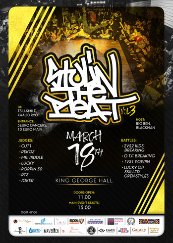 Stylin' The Beat vol.3 at King George Hall
