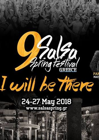 Patra goes to 9th Salsa Spring Festival at Club Hotel Casino Loutraki