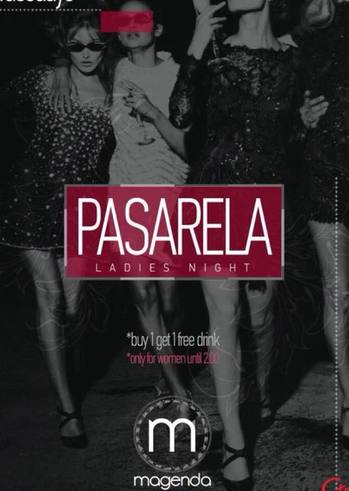 Pasarela Ladies Night at Magenda