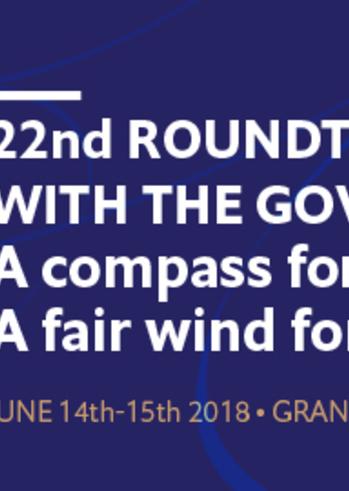 22η Συζήτηση Στρογγυλής Τραπέζης με την Ελληνική Κυβέρνηση στο Grand Resort Lagonissi Athens