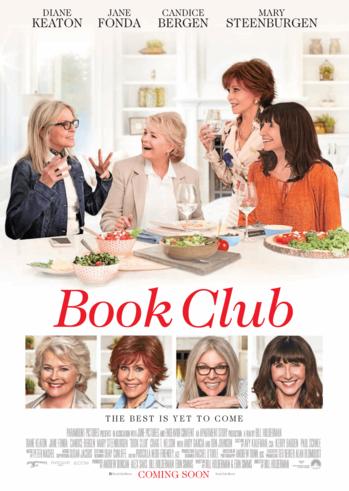 """Προβολή Ταινίας """"Book Club"""" στην Odeon Entertainment"""