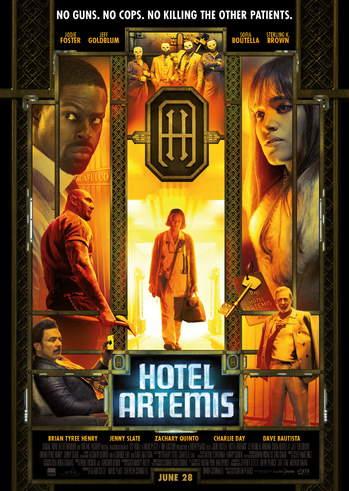 """Προβολή Ταινίας """"Hotel Artemis"""" στην Odeon Entertainment"""