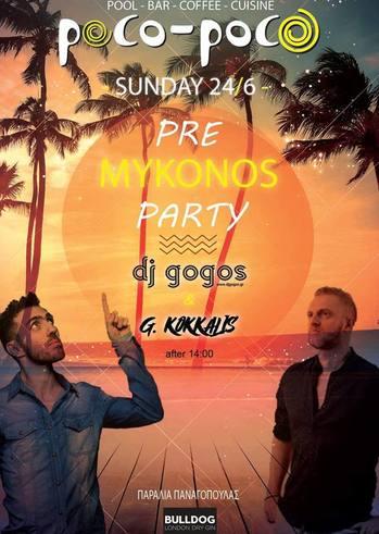 Pre Mykonos Party στο Poco Poco