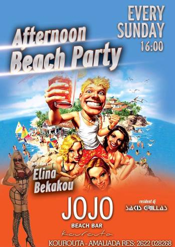 Afternoon Beach Party Vol2 at Jojo Beach Bar