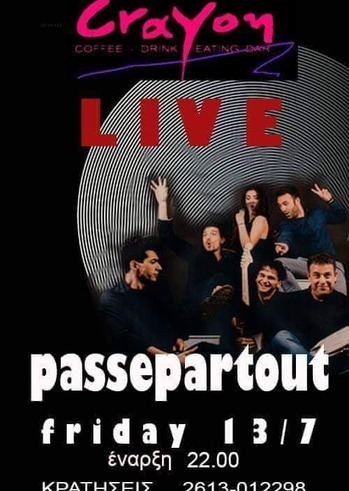 Passepartout Live at Crayon