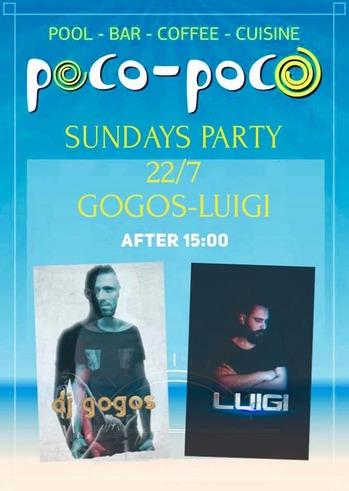 Dj Gogos & Dj Luigi at Poco Poco