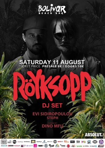 Royksopp at Bolivar Beach Bar