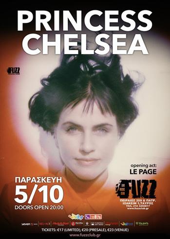 Princess Chelsea live in Fuzz Live Music Club